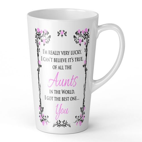 17oz Of All The... In The World I Got The Best One... You Novelty Gift Latte Mug